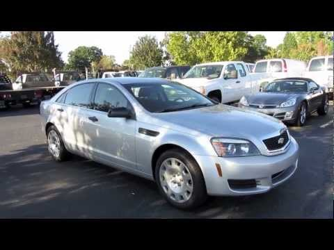 2011 Chevrolet Caprice Police Patrol Vehicle Start Up Exhaust And