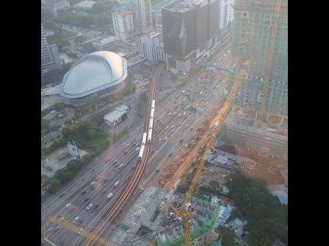 Buổi sáng đầu tiên ở Malaysia - từ tầng 43 tại Southview Residence