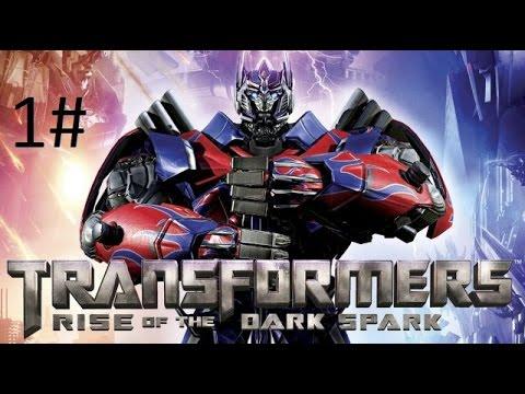 تختيم لعبة transformers حلقه 1  1 Transformers Rise of the Dark Spark Gameplay Part
