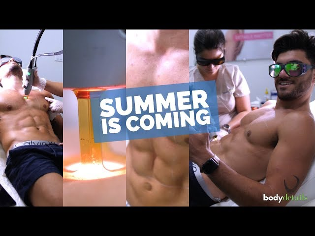 Manscaping in Miami | Laser Hair Removal For Chest | Santiago Schiavo | Body Details
