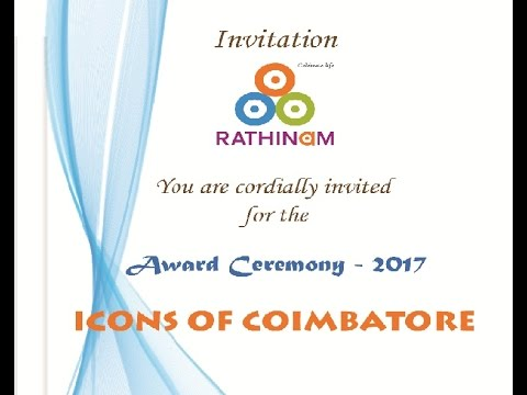 ICONS OF COIMBATORE 2017