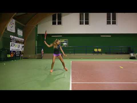 College Tennis Recruiting Video Fall 2018- Daria Walczak