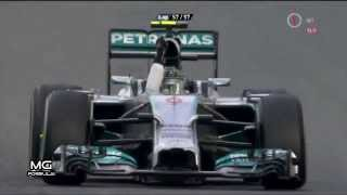 F1 2014 Australian Grand Prix Race Highlights