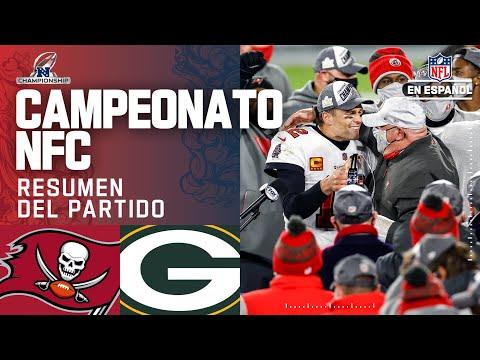 ¡Tom Brady y los Buccaneers jugarán el Super Bowl LV en casa! | Resumen | Campeonato NFC