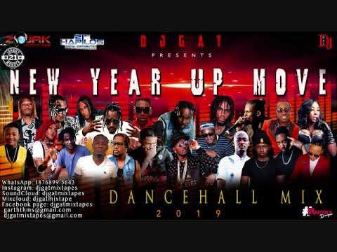 DANCEHALL MIX JANUARY 2019 DJ GAT NEW YEAR UP MOVE   FT MUNGA/VYBZ KARTEL/ALKALINE/MASICKA 899-5643