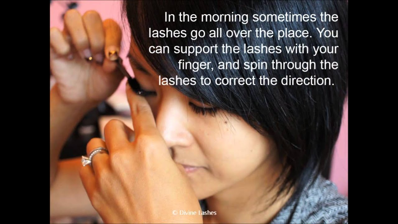 Eyelash Extensions Toronto How To Care Eyelash Extensions Youtube