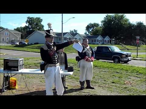 War of 1812,  Fort Madison Battlefield history