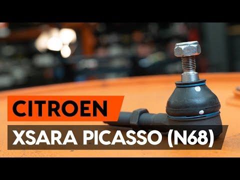 Как заменить наконечники поперечной рулевой тяги наCITROEN XSARA PICASSO (N68) [ВИДЕОУРОК AUTODOC]