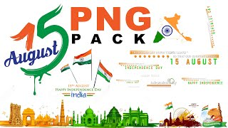 15 august India independence day png stock || for dp , banners poster design