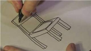 Drawing Lessons : How to Draw a Chair