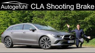 all-new Mercedes CLA Shooting Brake FULL REVIEW CLA 250 SB Progressive - Autogefühl