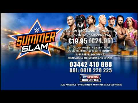 WWE | SummerSlam | SKY SPORTS BOX OFFICE |...