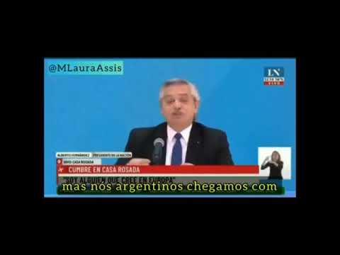 PRESIDENTE Da ARGENTINA FAIS DECLARAÇÃO SOBRE OS BRASILEIROS              olhocerto