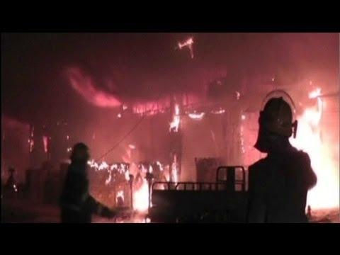 China market fire: 16 dead, 5 injured in Shenzhen fruit market blaze