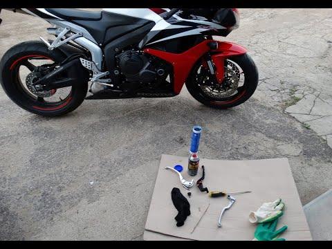 Honda CBR600RR, греется левый тормозной диск, решение проблемы
