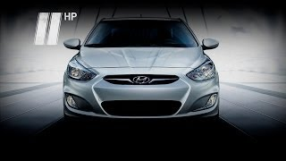 Hyundai Accent. Бюджетный седан. Две Лошадиные Силы
