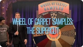 Wheel Of Carpet Samples: The Supercut (Late Night with Jimmy Fallon)