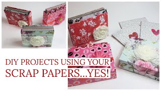 GOT SCRAPS? ⭐️⭐️MAKE THIS CUTE PROJECT...HAVE A LOOK⭐️⭐️A GREAT GIFT [[PERFECT FOR CRAFT FAIRS TOO]]