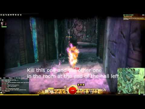 GW2 Malchor's Leap - Karst Plain Skill Point