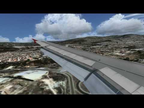 FSX Landing in Toncontin Honduras Most Dangerous Airports