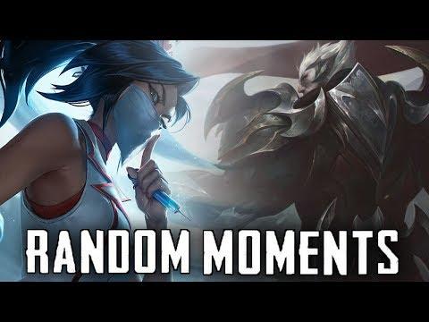 Random LoL Moments #15 | League Of Legends Mid