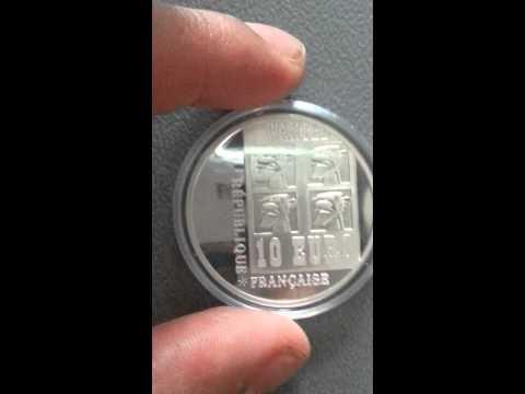 10 euro Lucky Luke argent 2009 France