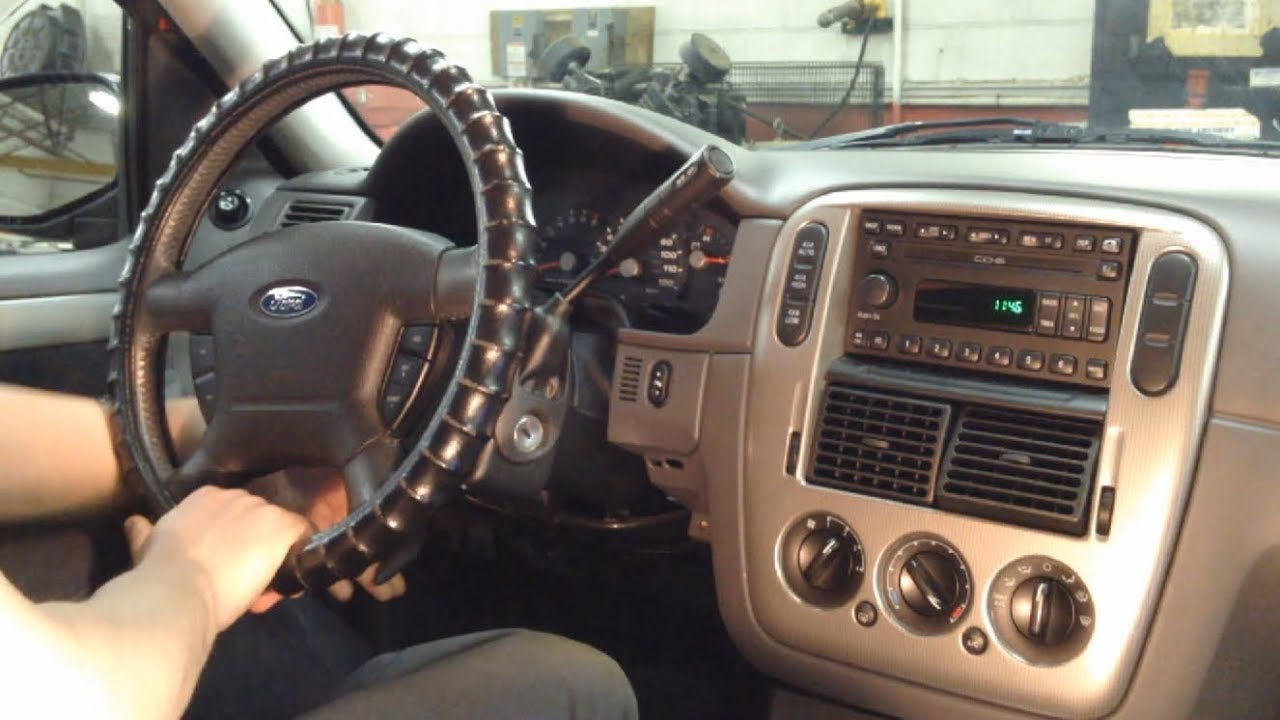 2002 2005 Ford Explorer Instrument Cluster Removal Youtube