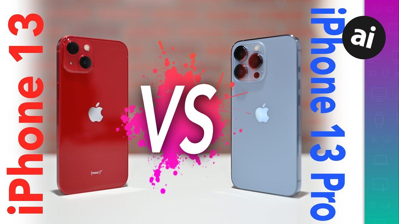 Compared: iPhone 13 versus iPhone 13 Pro