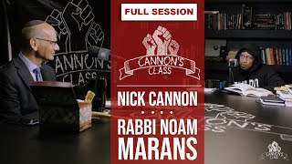 [FULL SESSION] Rabbi Noam Marans On #CannonsClass