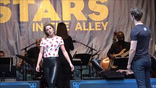 The Cast of Broadway's Mean Girls - Taylor Louderman - Stars in the Alley 2018