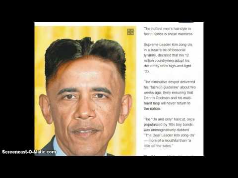 KIM JUNG UN Orders All Men To Get Hair Cuts!