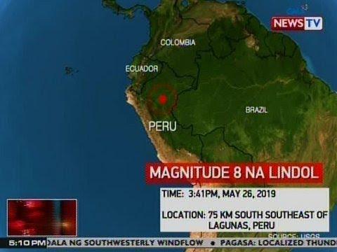 NTVL: Hilagang bahagi ng Peru, niyanig ng magnitude 8 na lindol