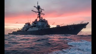 BREAKING NEWS: Another US Destroyer Collision with Merchant Ship in Singapore