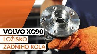 Jak vyměnit ložisko zadního kola na VOLVO XC90 1 [NÁVOD]
