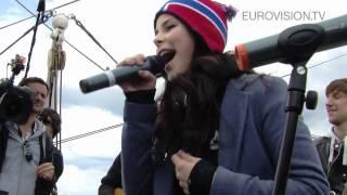 Lena - Satellite - acoustic version (Boat trip in Oslo)