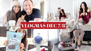 BAKING WITH THE HUBBY!👦🏼🎄VLOGMAS DAY 7+8! -SLMissGlamVlogs