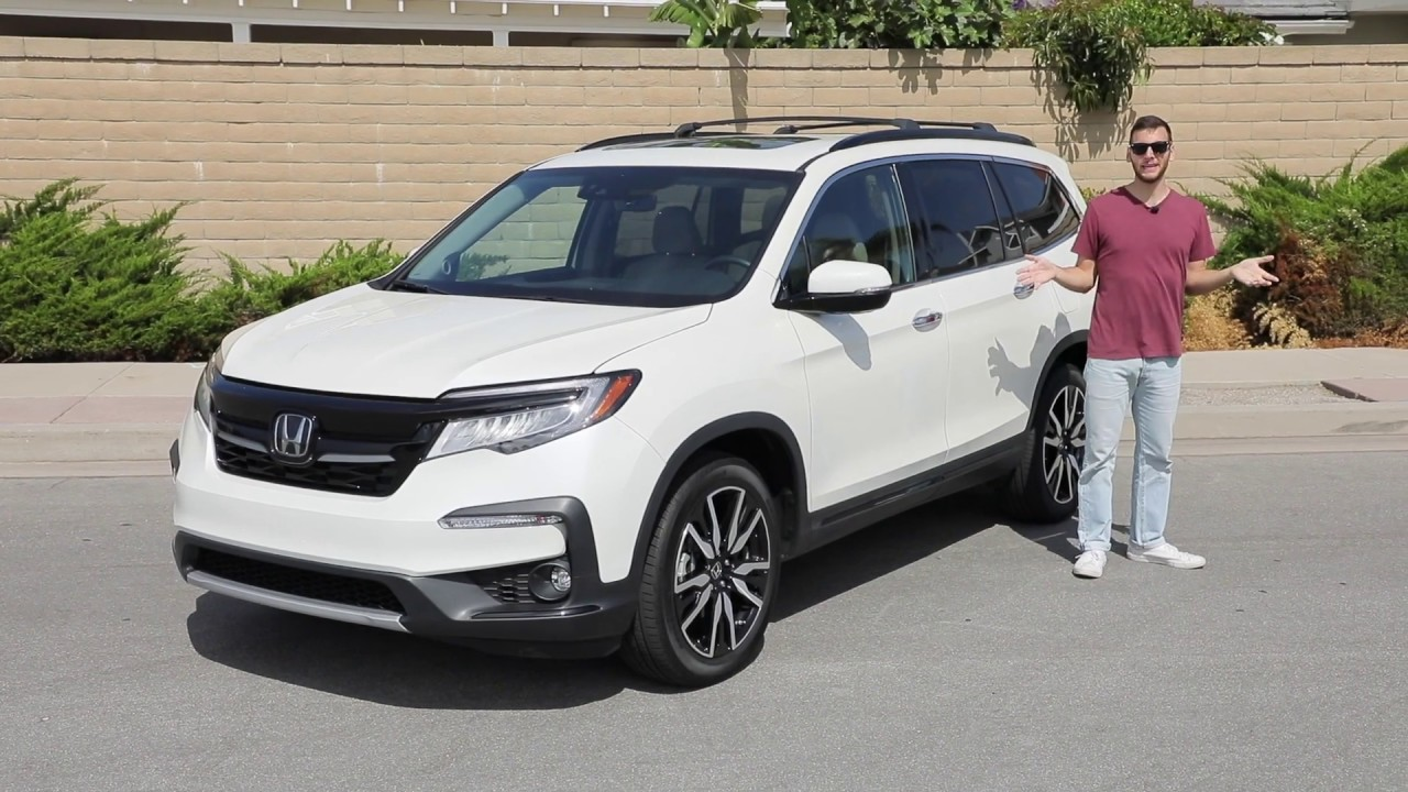 2020 Honda Pilot Elite Awd Test Drive Video Review Youtube