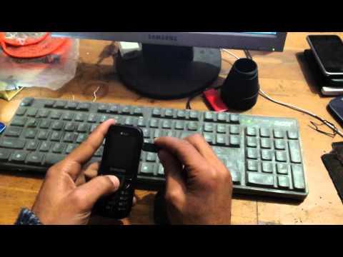 Flash samsung E1282t with Z3x box