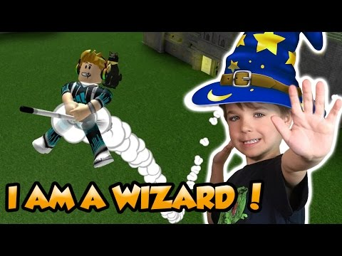 I AM A WIZARD in ROBLOX | 2 Player Tycoon | Team With My Dad !
