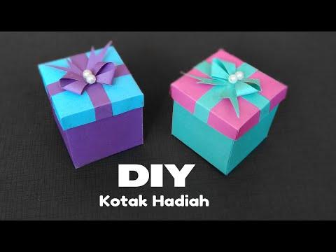 Cara Membuat Kotak Hadiah - Paper Gift Box