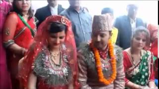 Aryan Sigdel engagement to marriage and the reception party in 2 minutes
