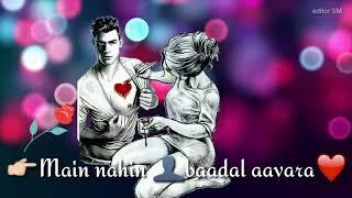 heart touching sad song,  Mujhko Galat Na Samajhna, BAAZIGAR, darpan shah  , sad whatsapp status ..
