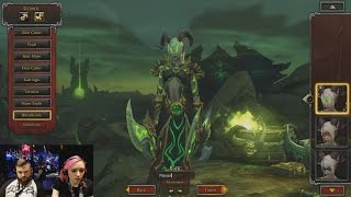 Demon Hunter Starting Zone | Legion Blizzcon Demo | Full Playthrough