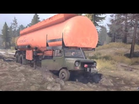 spintires mudrunner ps4 the valley dlc let 39 s check it out. Black Bedroom Furniture Sets. Home Design Ideas