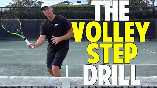 Tennis Volley Step Drill
