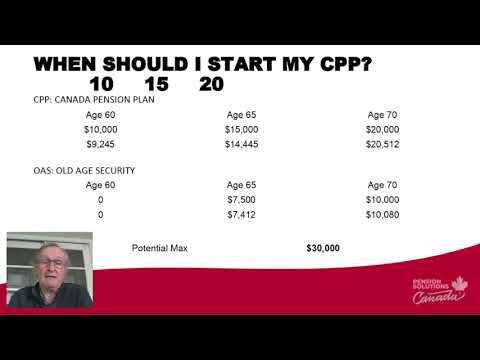 CPP & OAS: