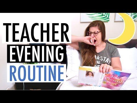 my-evening-routine-as-a-teacher