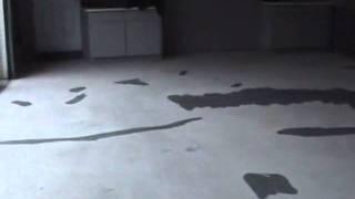 Repairing A Garage Floor