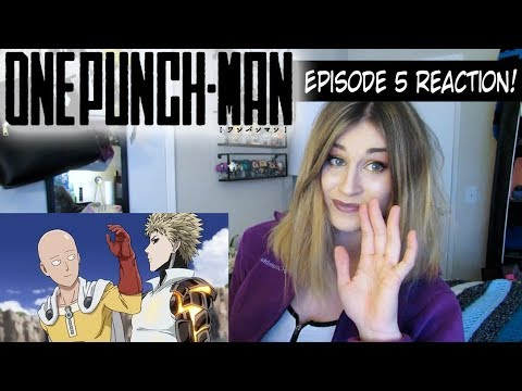 One Punch Man Episode 5 - The Ultimate Master REACTION!