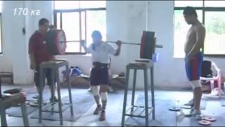 Чен Вей-Линг присед 170 кг (46 кг) без экипировки